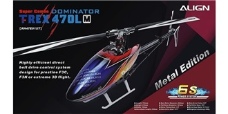 RC Heli Align T-Rex 470LM Dominator ..