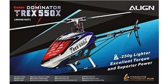 RC Heli Align T-Rex 550X Dominator Combo Beastx