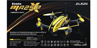 RC Quadrocopter MR25XP Racing Combo gelb