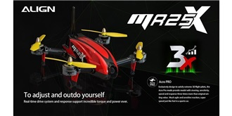 RC Quadrocopter MR25X Racing Combo rot