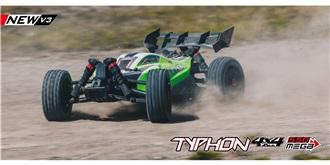 RC Car Arrma Typhon Mega 550 1:8 RTR
