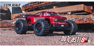 RC Car Arrma Outcast BLX 8S rot 4WD 1:5 RTR
