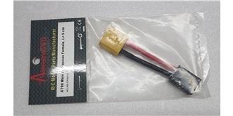 Stecker Kupplungskabel XT90 (Accu) - TRX (Regler)