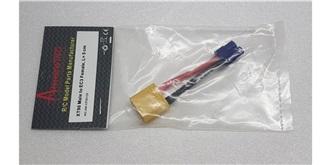 Stecker Kupplungskabel XT90 (Accu) - EC3 (Regler)