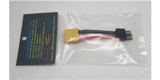 Stecker Kupplungskabel TRX (Accu) - XT90 (Regler)