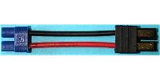 Stecker Kupplungskabel TRX (Accu) - EC3 (Regler)