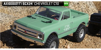RC Axial SCX24 Chevy Truck green 1:24 RTR