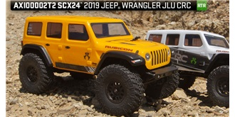 RC Axial SCX24 Jeep Wrangler yellow 1:24 RTR