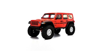 RC Car Axial SCX10 III Jeep Wrangler rot 4WD 1:1..