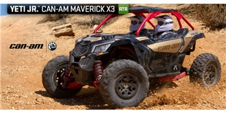 RC Axial Can-Am Maverick 4WD Brushed 1:18 RTR