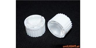 UniLight Optik für Emitter, 22mm, Diffus