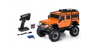 RC Car Carson Land Rover Defender orange RTR