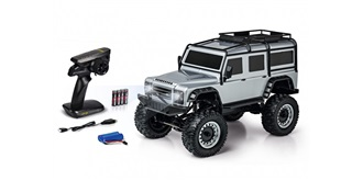 RC Car Carson Land Rover Defender silber RTR