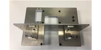 LKW Grundplatte Akkuhalter Alu 2/3 Achser 1:14