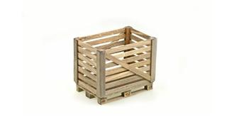 LKW Euro-Palette Holzgitterbox 1:14