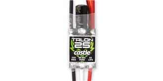 ESC Castle Talon 25 (2-6SLiPo, 3A BEC)