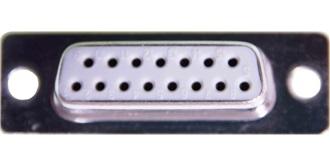 Stecker Sub-D Buchse 15pol. 1St