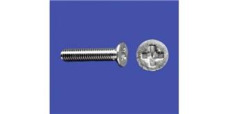 Schraube M 2,0x 10mm Senkkopf-Gewinde (Kreuz) 10St