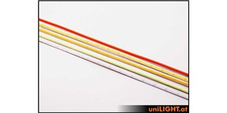 Licht LED FineLine COB-Strip 3mm rot 3m Rolle