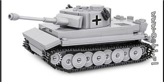 Bausteine Cobi Panzer VI TIGER