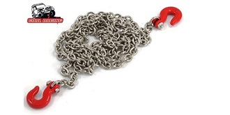 Abschlepp Kette (Metall) inkl. 2 Haken 1:10