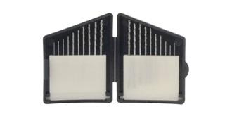 Bohrer Set HSS 0,3 - 1,2mm 20-teilig
