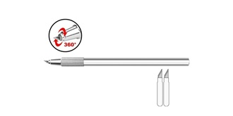 Kurvenmesser Präzision mit Alugriff