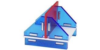 Modellbau Winkelset magnetisch 180°