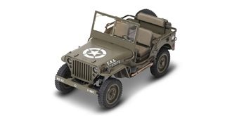 RC Car Rochobby 1941 MB Crawler grün 4WD 1:6 RTR