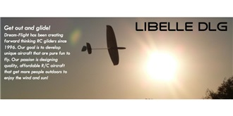 RC Flug Dream-Flight Libelle DLG 1200mm EPO