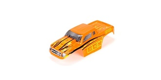 Electrix1:18 Karosserie Ruckus orange lackiert
