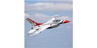 RC Flug E-flite F-16 815mm BNF 70mm EDF AS3X