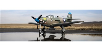 RC Flug E-flite P-39 Airacobra 1200mm AS3X BNF S..