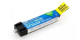Accu LiPo E-flite 150-1S (3,7V) 45C