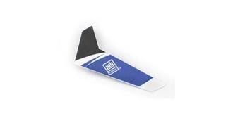 Blade mSR Heck-Leitwerk blau