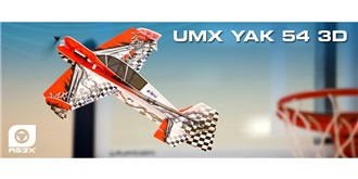 RC Flug E-flite  YAK 54 3D 430mm AS3X BNF