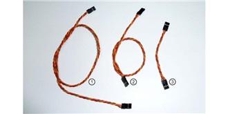 Servo Patchkabel Emcotec 70cm (0,34mm²) 3St