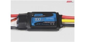 ESC EP AER 100A 2-6S LiPo, S-BEC 6A, 78g