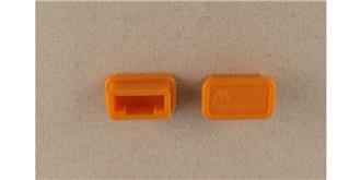 Stecker Kurzschluss-Sicherung MPX orange 2St