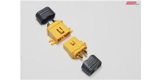 Stecker XT60-C mit Kabelschutz 1paar