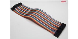 Stiftleiste (Pinheader) Flachbandkabel 40Pin/20cm