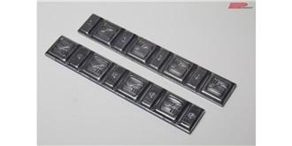 Klebgewicht Blei Platten standart 5+10gr 2St