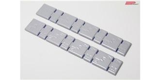 Klebgewicht Zinn Platten spez dünn 2,5+5gr 2St
