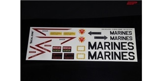 Decor Scale Jet US-Marines