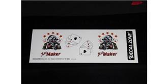 "Decor Scale Nose Art ""Ace Maker"""
