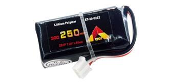 Accu LiPo ETOP  250-2S (7,4V) 30C JST-PH