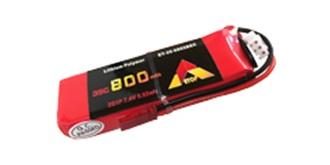 Accu LiPo ETOP  800-2S (7,4V) 35C BEC