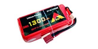 Accu LiPo ETOP 1300-3S (11,1V) 35C Deans