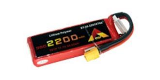 Accu LiPo ETOP 2200-3S (11,1V) 35C XT60
