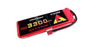 Accu LiPo ETOP 3300-3S (11,1V) 35C Deans